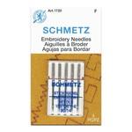 Schmetz SCHMETZ EMBROIDERY NEEDLE 90/14 CARDED 5/PKG