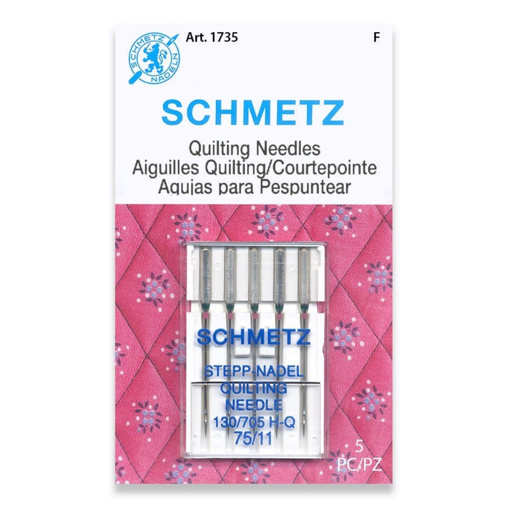 Schmetz SCHMETZ QUILTING NEEDLE 75/11 CARDED 5/PKG