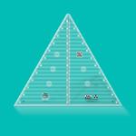 Creative Grids Creative Grids 60 Degree Triangle CGRT12560