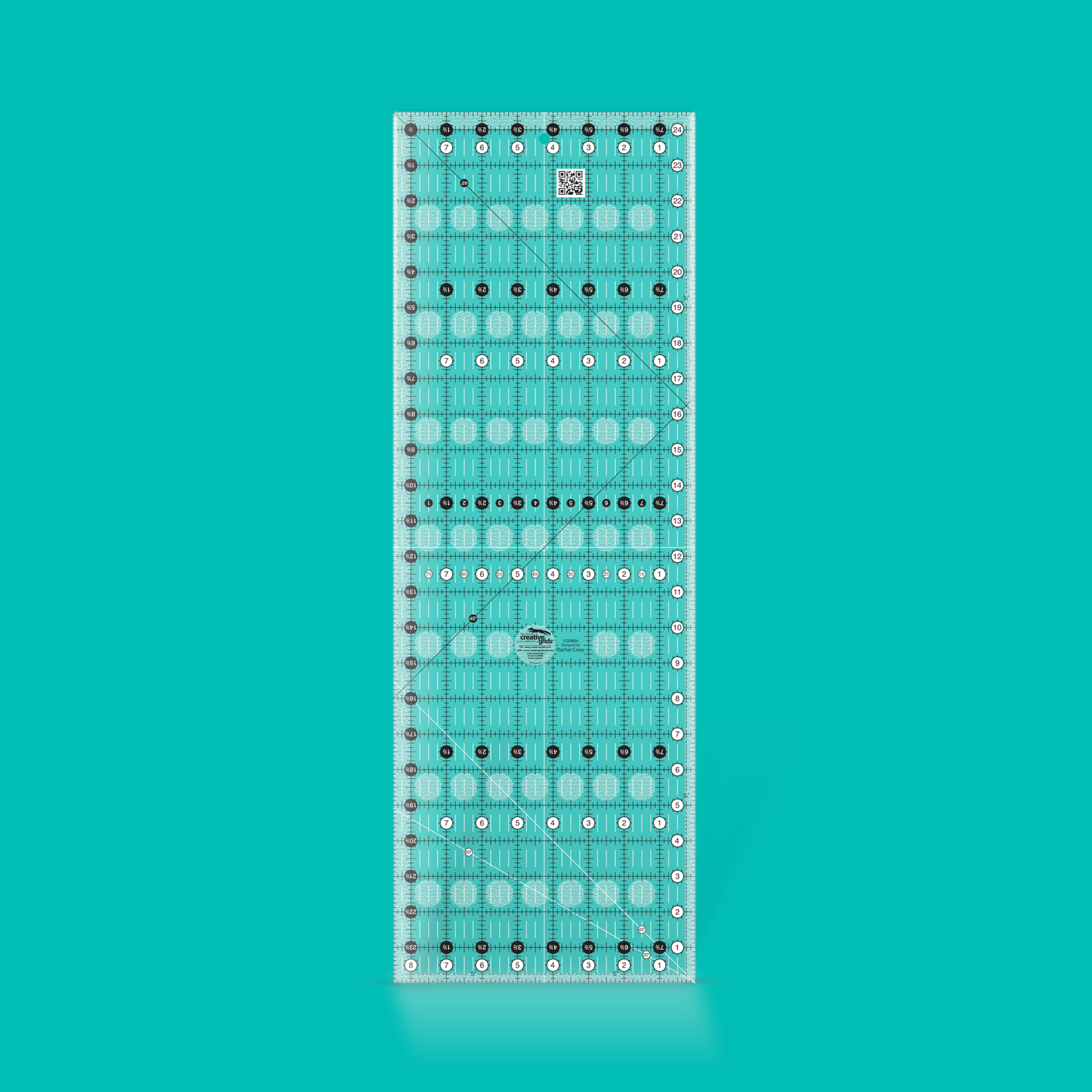Creative Grids Creative Grids 8 1/2 X 24 1/2 Ruler CGR824