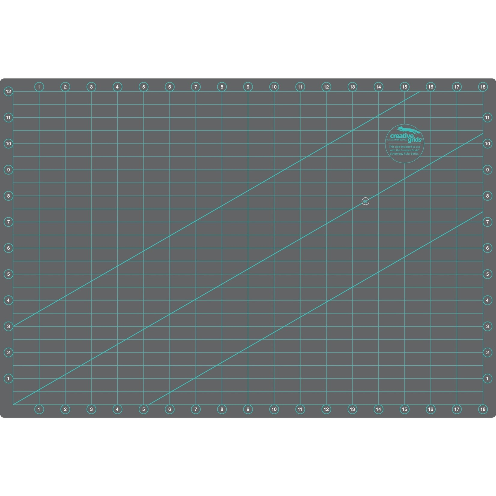 Creative Grids Creative Grids Cutting Mat Double-Sided 12 X 18 CRGMAT1218