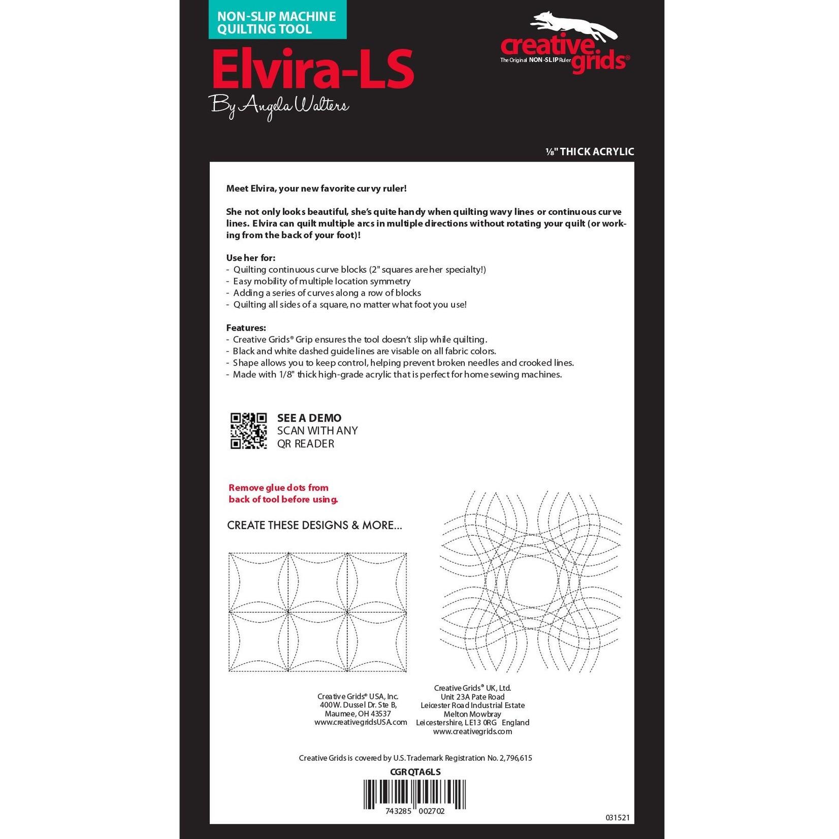 Creative Grids Creative Grids Elvira Low Shank CGRQTA6 LS