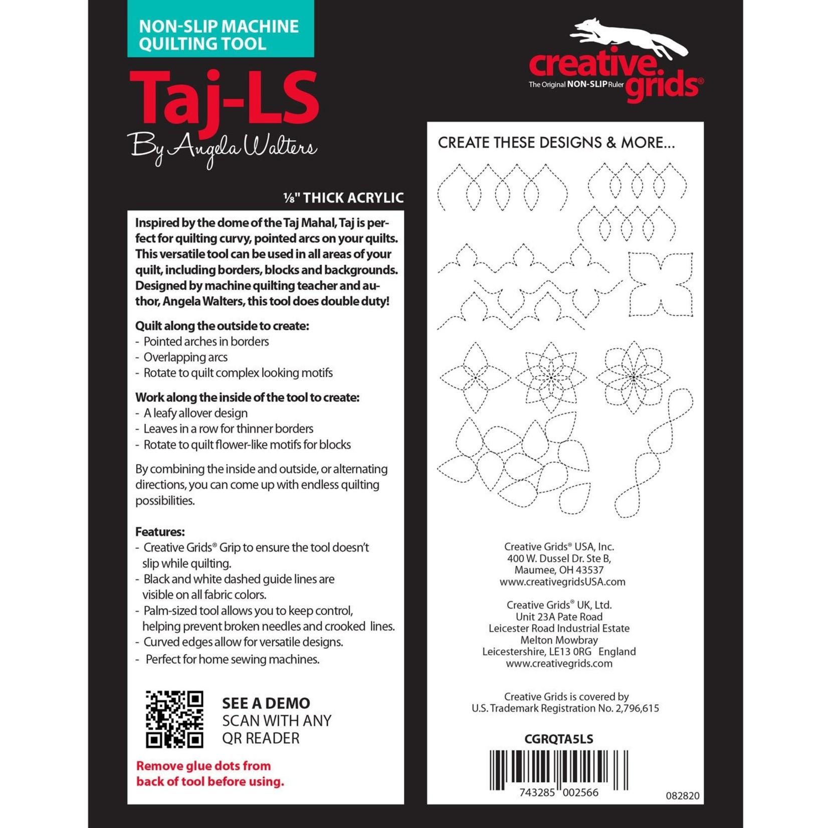 Creative Grids Creative Grids Taj Low Shank Ruler CGRQTA5LS