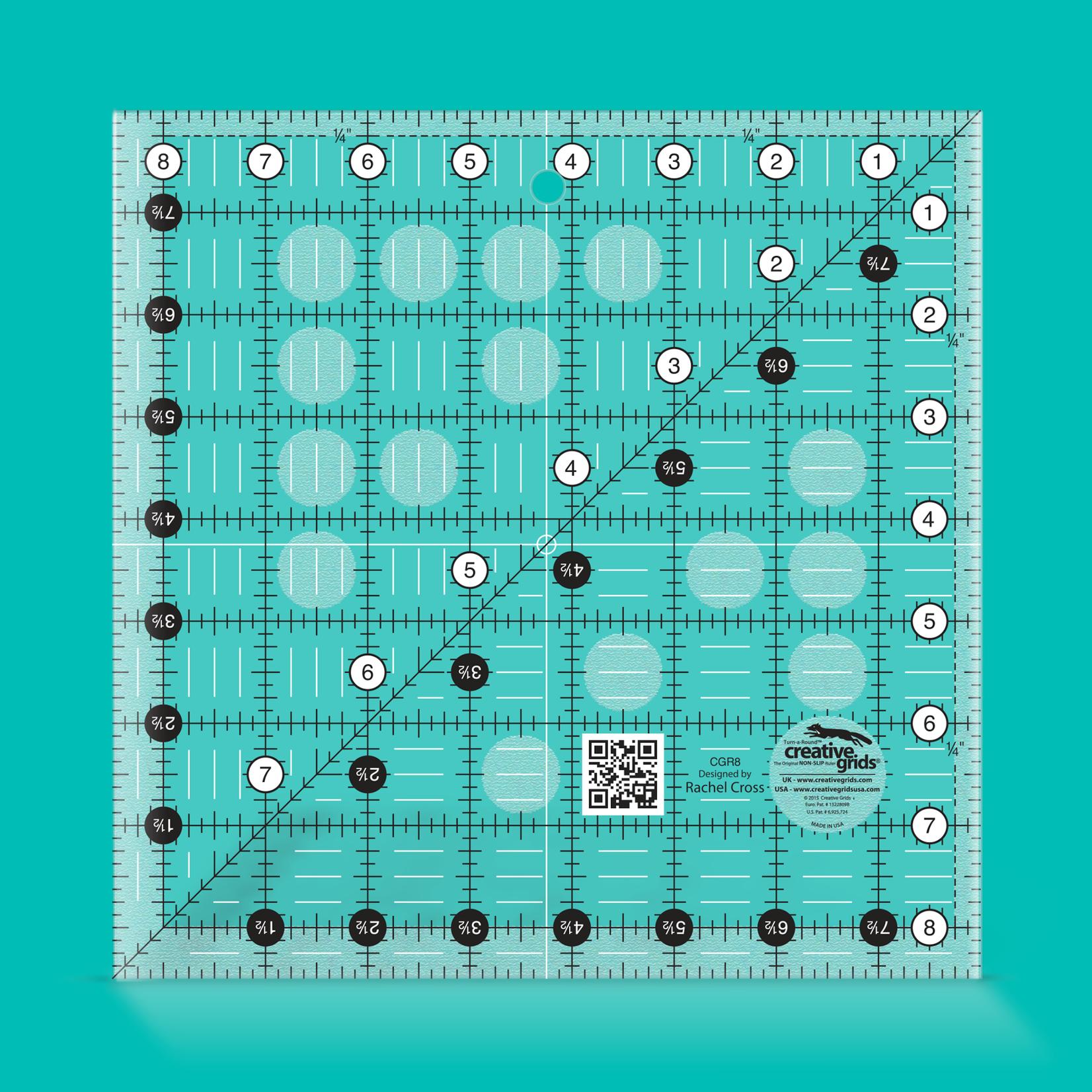 Creative Grids Creative Grids 8 1/2 x 8 1/2 Ruler