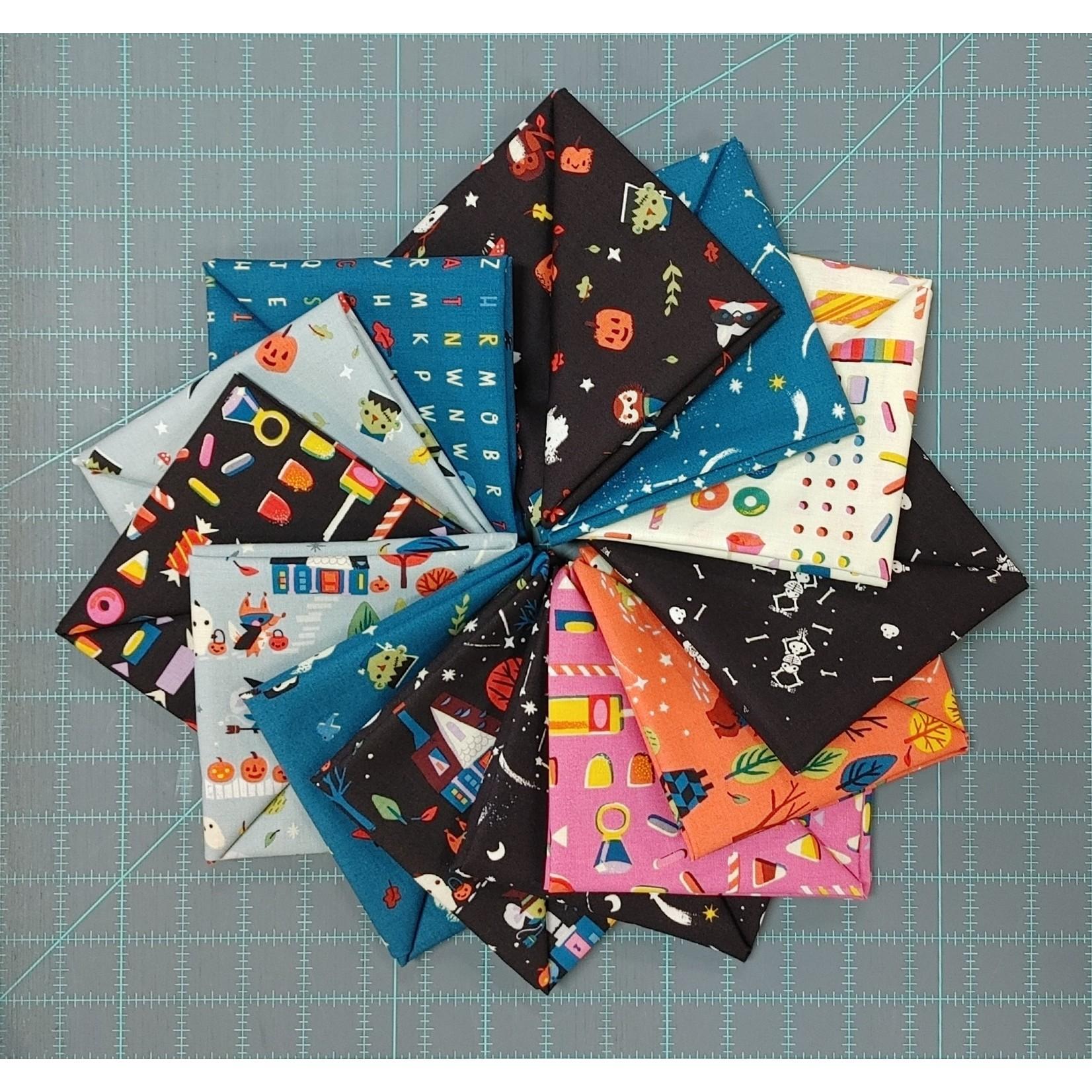 Riley Blake Designs Tiny Treaters Bundle - 13 Fat 1/4s