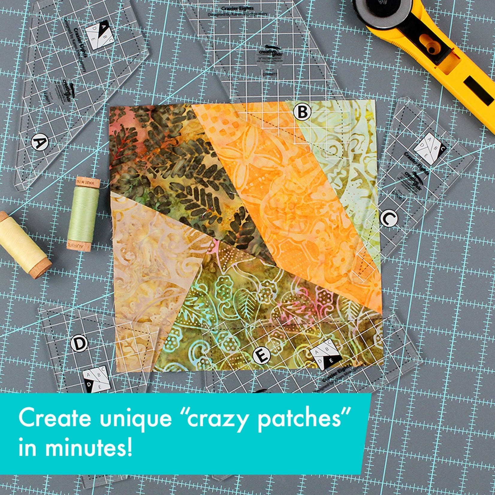 Creative Grids Creative Grids Crazier Eights Templates CGRMT7