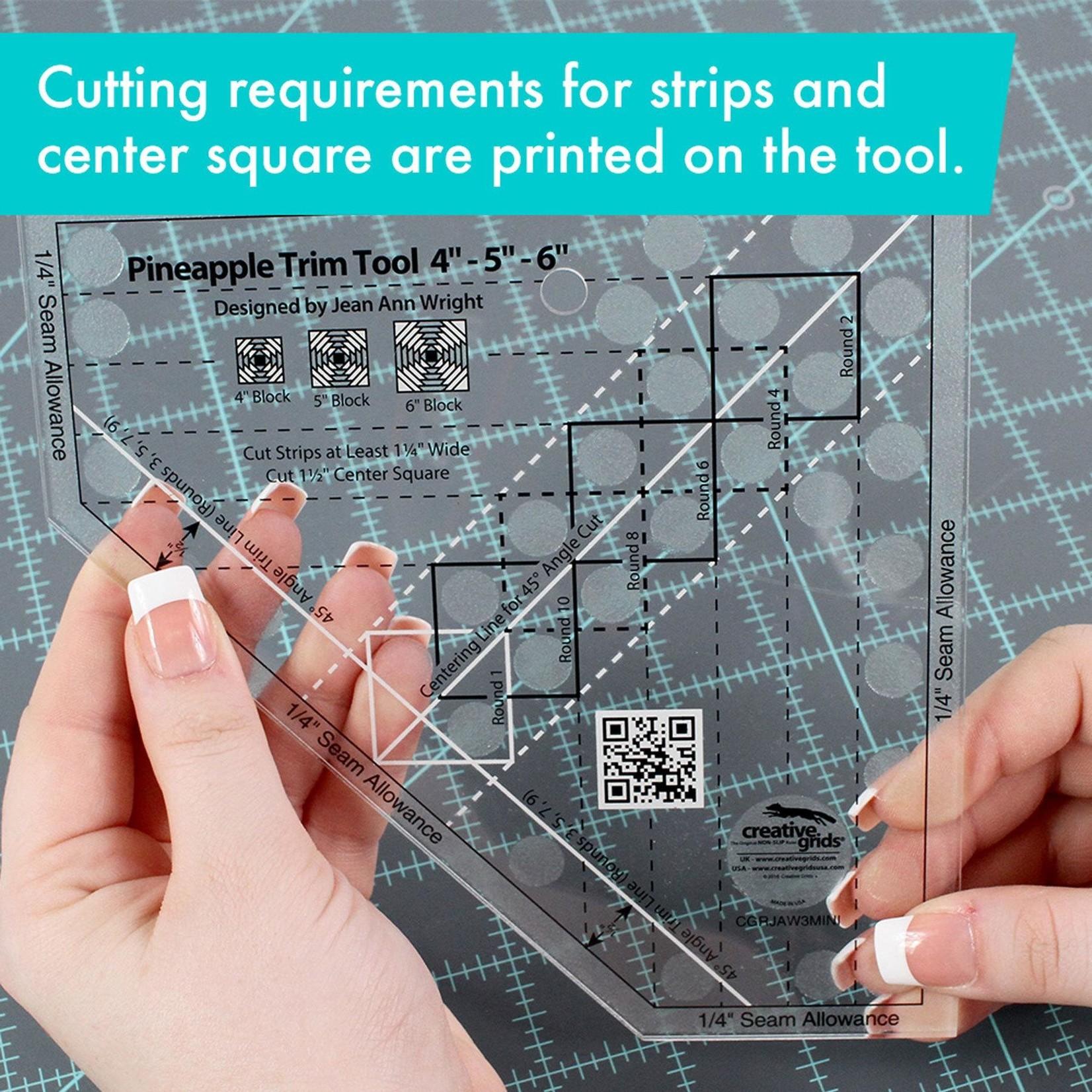 Creative Grids Creative Grids Pineapple Trim Tool Mini CGRJAW3MINI