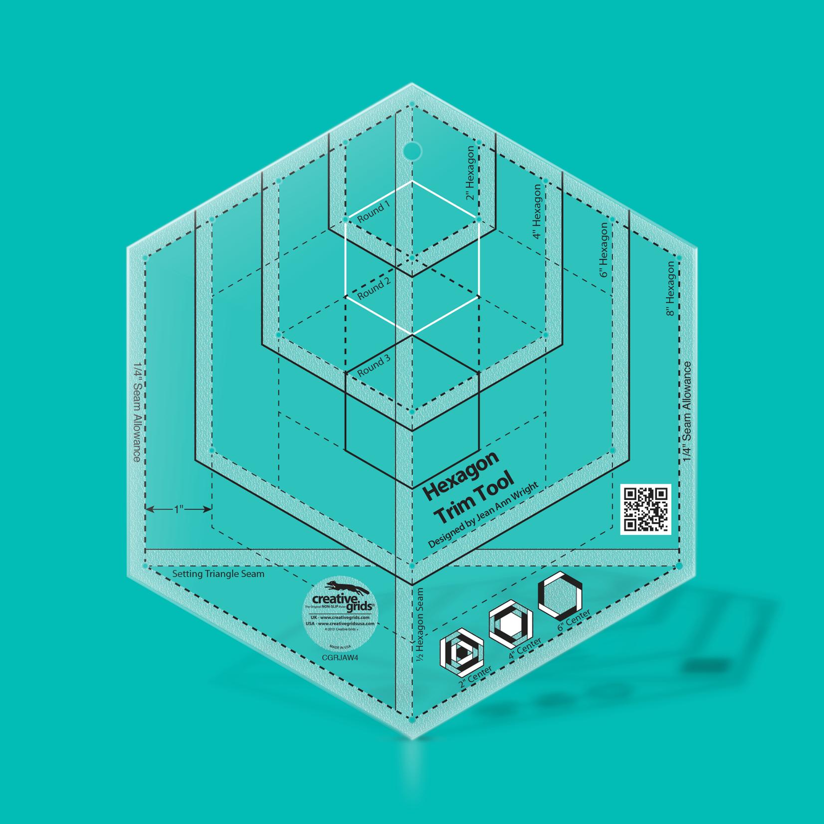 Creative Grids Creative Grids Hexagon Trim Tool CGRJAW4