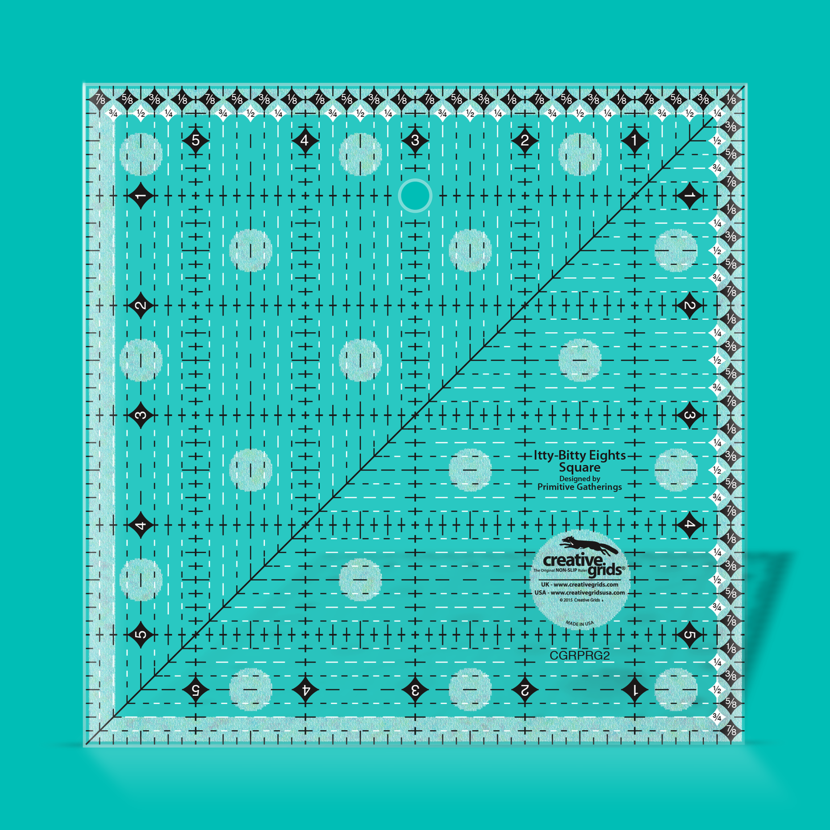 Creative Grids Creative Grids Itty-Bitty Eights Square CGRPRG2