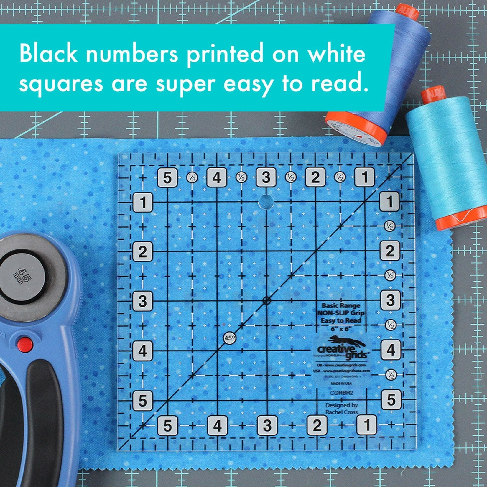 "Creative Grids Creative Grids 6"" Square CGRBR2"