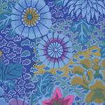 Kaffe Fassett 35cm. KF Collective - Dream, Blue (PWGP148.BLUEX) $0.18 per cm or $18/m