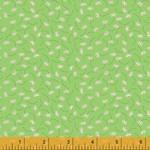Windham Fabrics 145cm STORYBOOK, BOUNCING FLOWERS, GREEN (51984-6)$20M