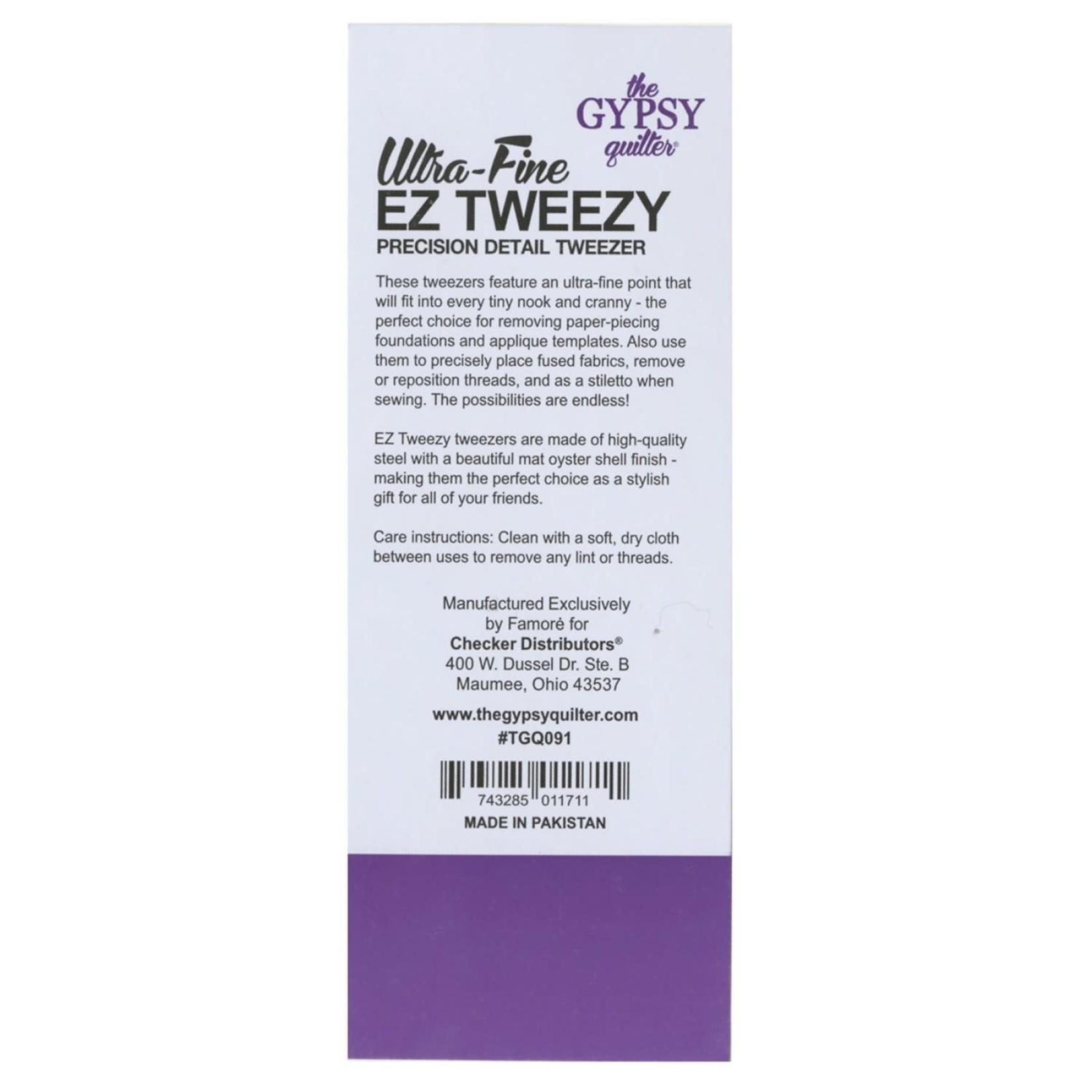 The Gypsy Quilter Ultra-Fine EZ  Tweezy Tweezers