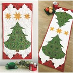 Cut Loose Press Pine Tree Banner or Table Runner