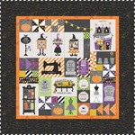 Kimberbell Designs Candy Corn Quilt Shoppe Quilt EMBROIDERY Version