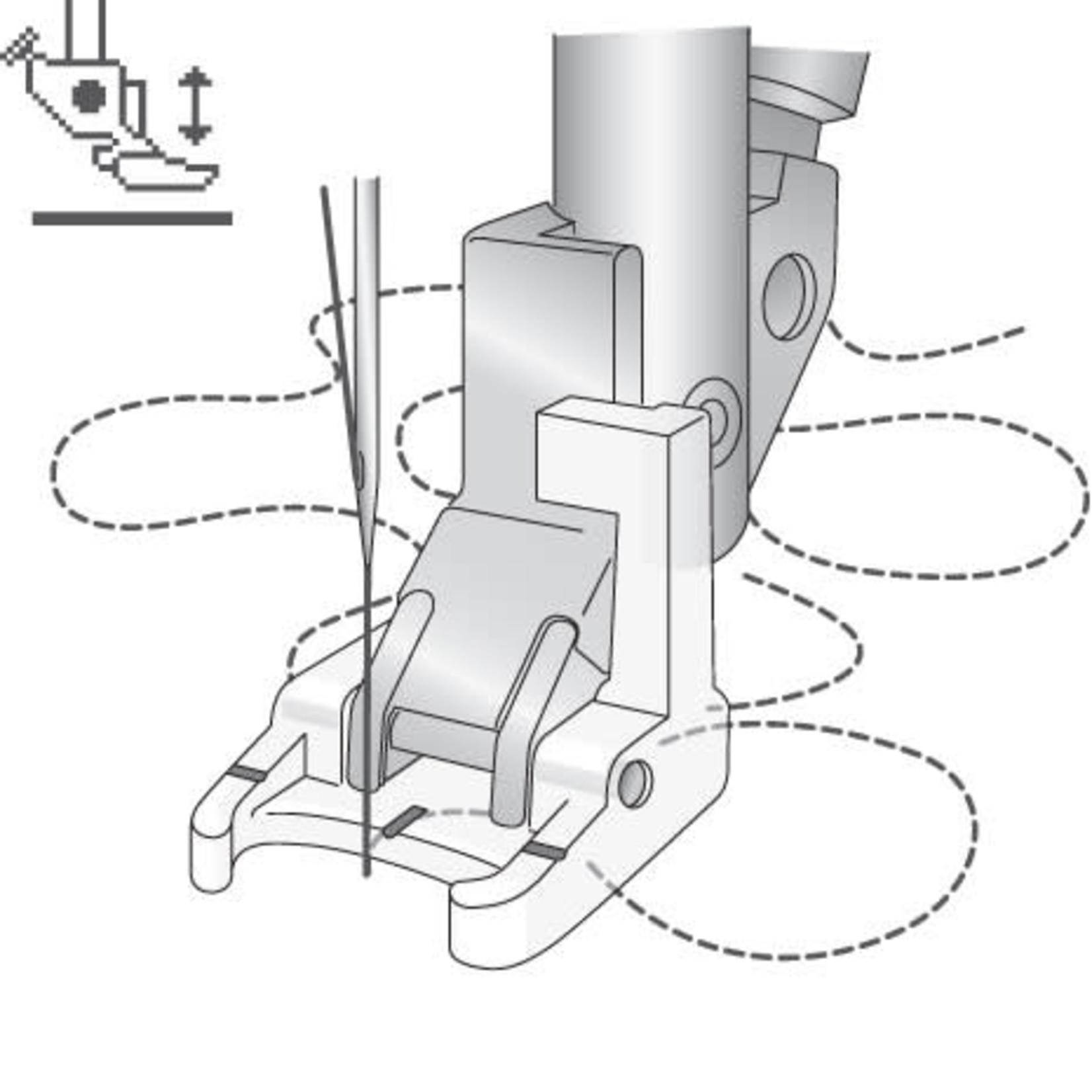 Pfaff Open Toe Sensormatic Free Motion Foot ( J )