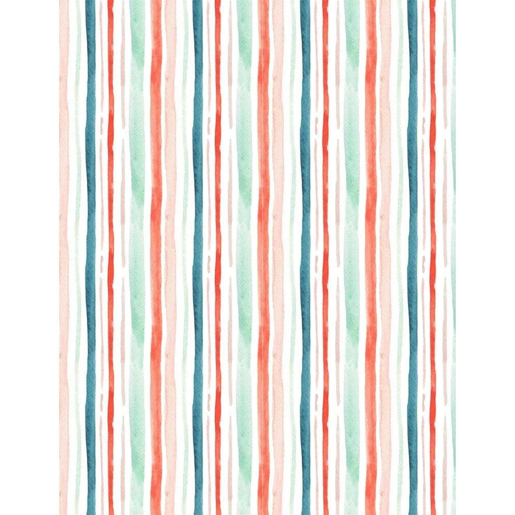 Dear Stella Baby its Cold Outside, Holiday Stripe, Multi DSDCJ1827 $0.20 per cm or $20/m