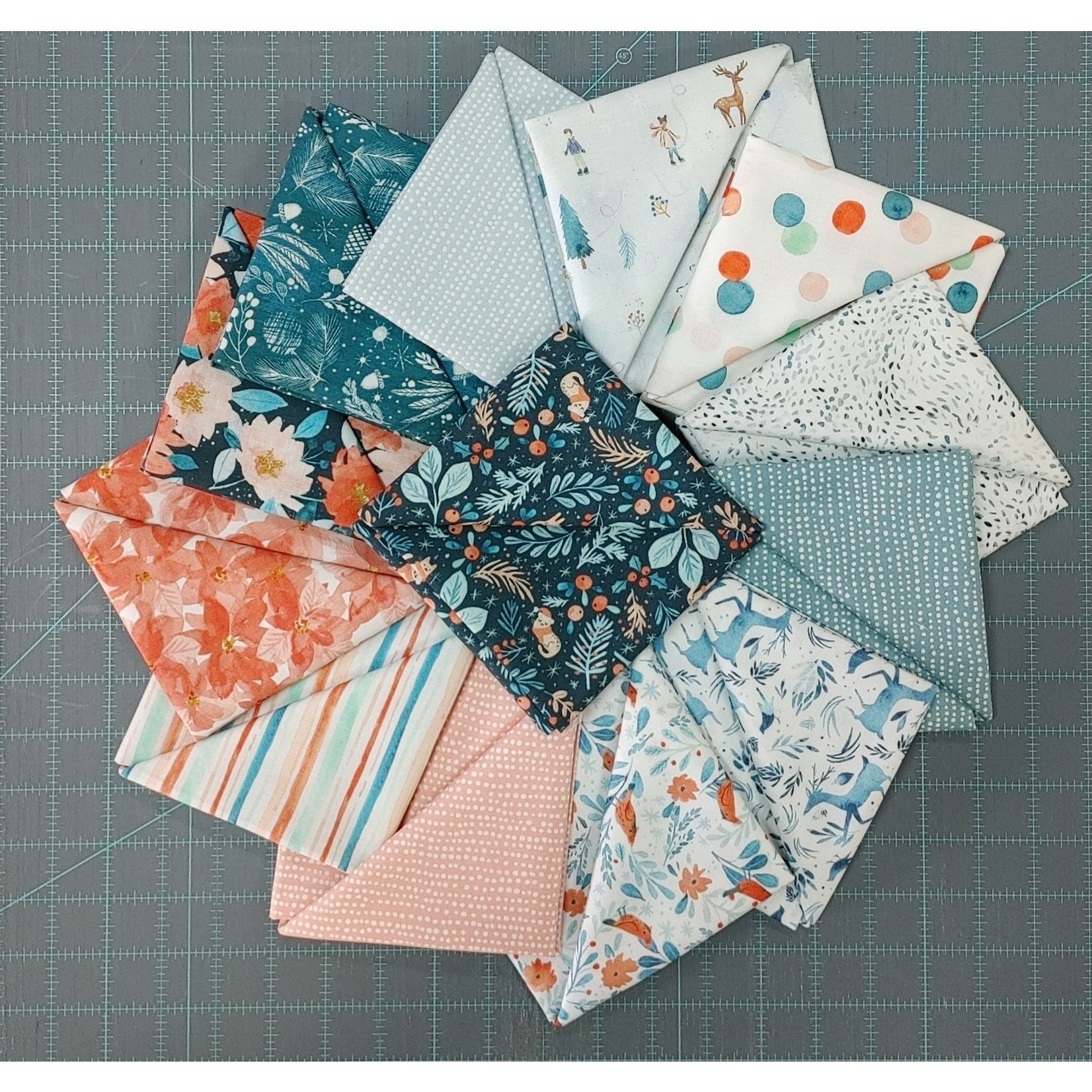 Dear Stella Baby its Cold Outside Collection - 1/2 Meter Bundle - 13 PCS