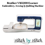Brother Brother VM5200 Essence Sewing, Quilting & Embroidery Machine