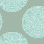 Tilda Tilda Wide Backing 108 Wide, Luna Teal/Sage Backing 150003 $0.34 per cm or $34/m