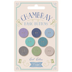 Tilda Chambray Buttons Cool 8 pcs