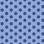 Tilda Tilda Basics Medium Dots, Denim Blue 130013 $0.20 per cm or $20/m