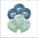 "Bear-ly Wait ""It's a Boy"" Latex Balloons- 15 Count"