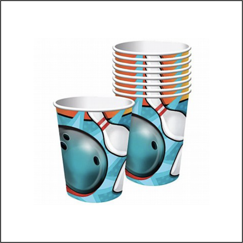 CUP 9 OZ BOWLING