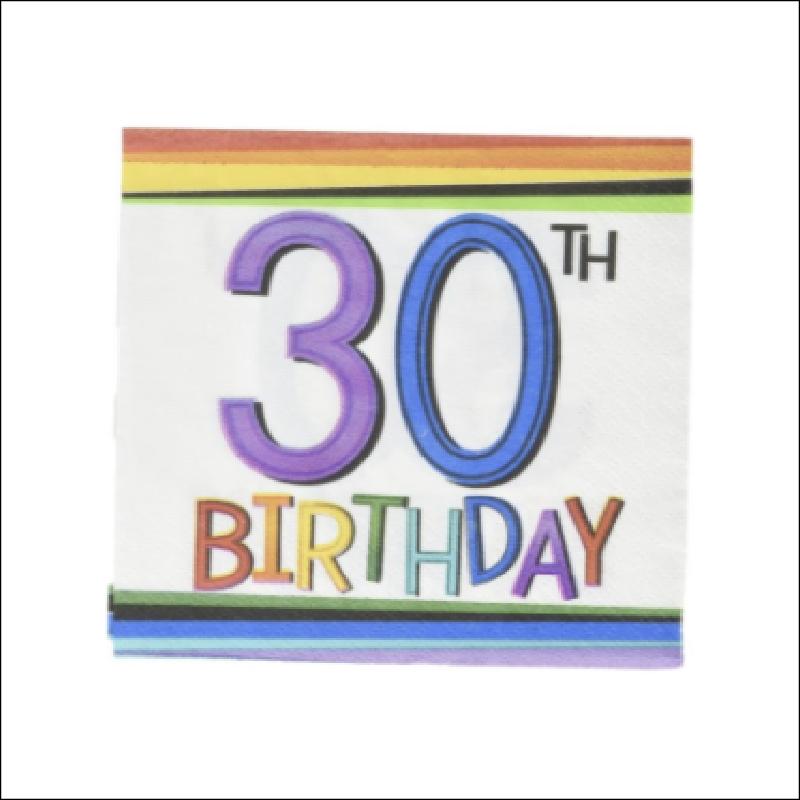 BN 30 RAINBOW BIRTHDAY