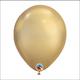 chrome gold latex balloons (1 Latex)
