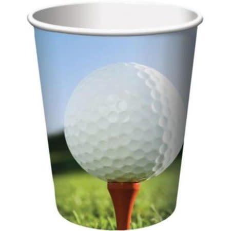 377965 sports fanatic golf cups 9 oz