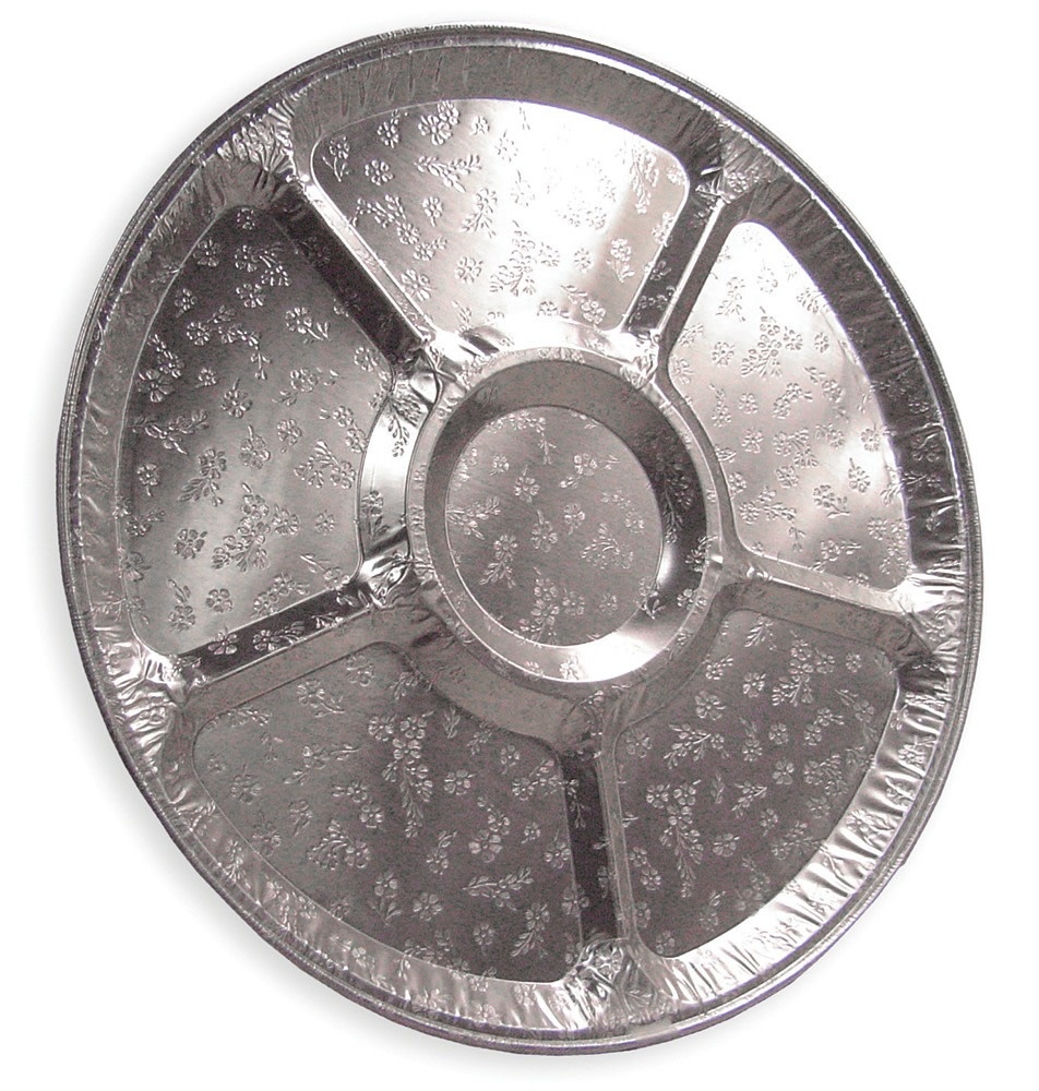 """16"""" Aluminum Lazy Susan Tray"""