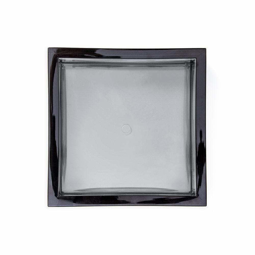 Acrylic Cocktail Napkin Holder - Smoke
