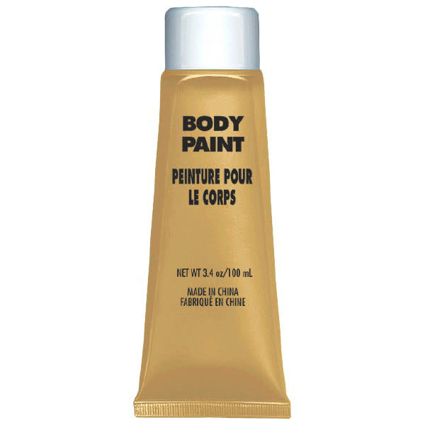Gold Body Paint
