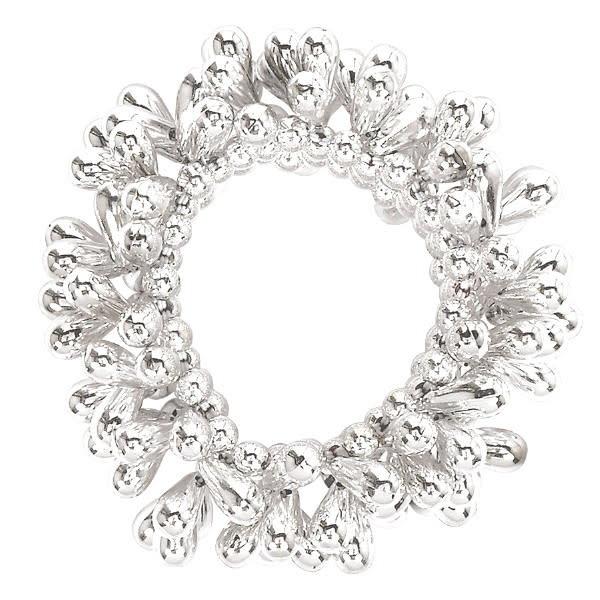 Drop Bead Bracelet - Silver