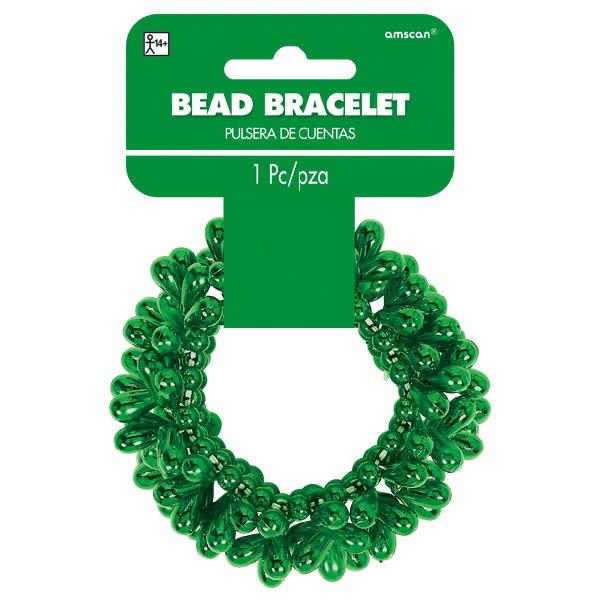 Drop Bead Bracelet - Green