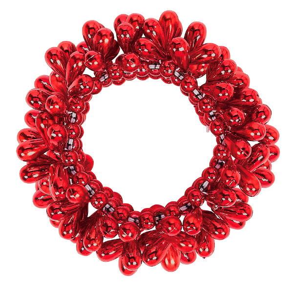 Drop Bead Bracelet - Red