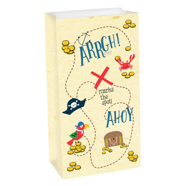 Ahoy Pirate Treat Bags