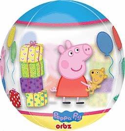 "Peppa Pig Orbz Balloon - 16"""