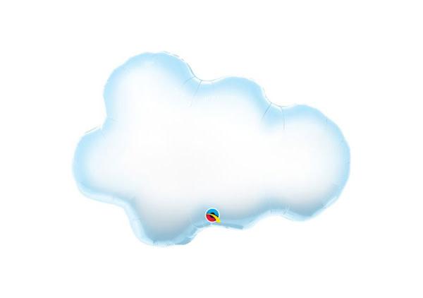 """Cloud Mylar Balloon - 30"""""""