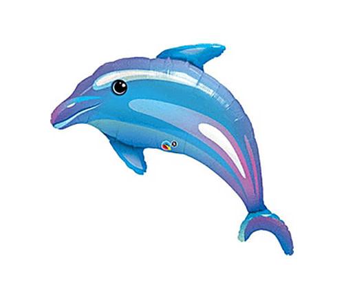 "Delightful Dolphin Mylar Balloon - 42"""