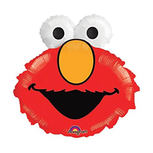 Elmo Head Mylar Balloon - 20''