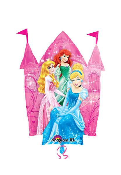 "Disney Princess Castle Mylar Balloon 2 Sided - 35"""