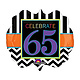 "65th Celebration Mylar Balloon - 25"""