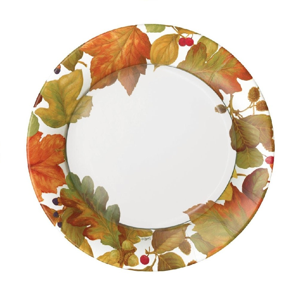 Autumn Leaves 2 Dinner Plates