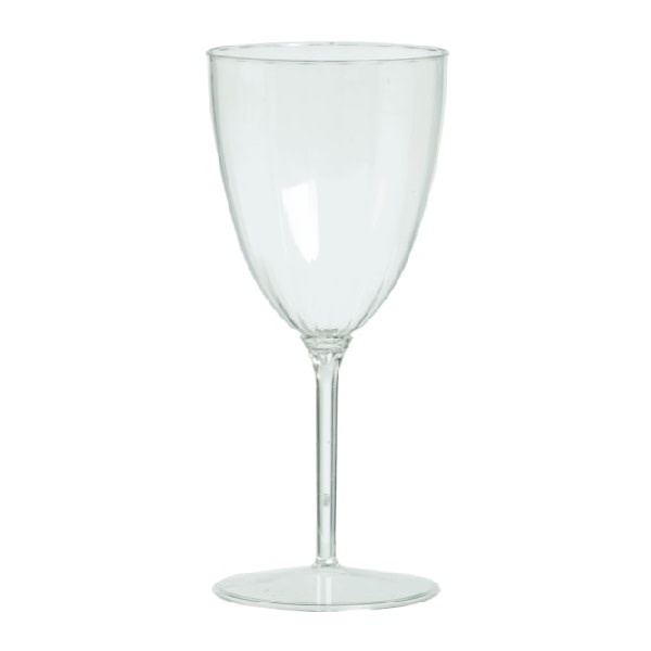 Clear Premium Quality Boxed Wine Goblets 8 Per Package