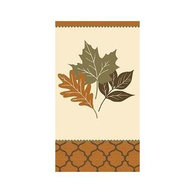 Copper Leaves Guest Towel