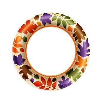 """Autumn Warmth 8.5"""" Plate"""