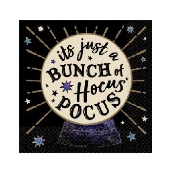 Hocus Pocus Beverage Napkins - 16 ct / 2 ply