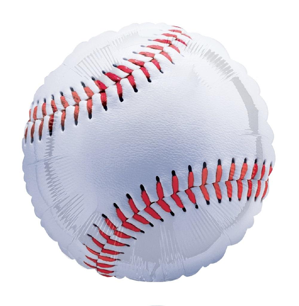 """18"""" Mylar """"Baseball"""" - #172"""